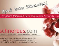 Karneval in Liesen mit schnorbus.com