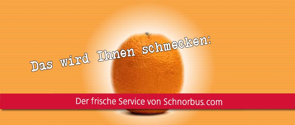 Der frische Service von schnorbus.com